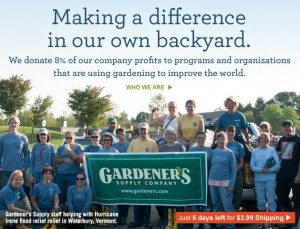 gardeners supply charity