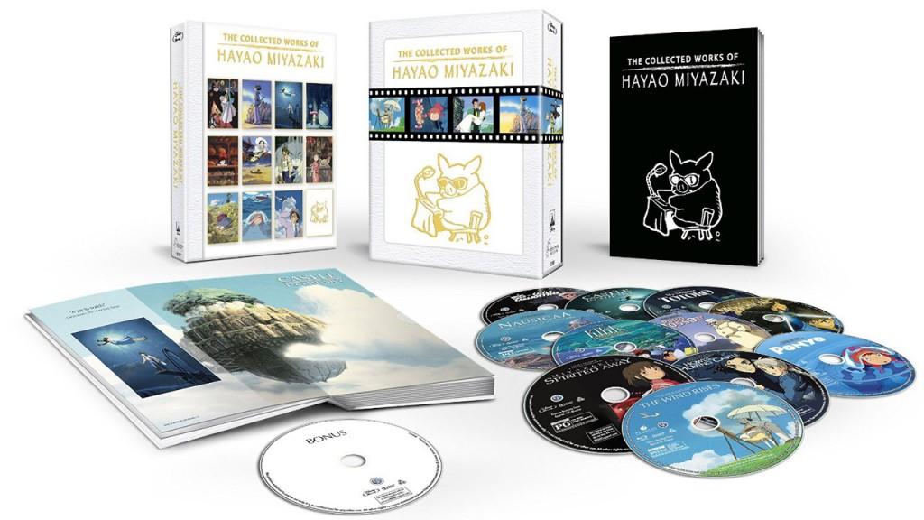 miyazaki full bluray set