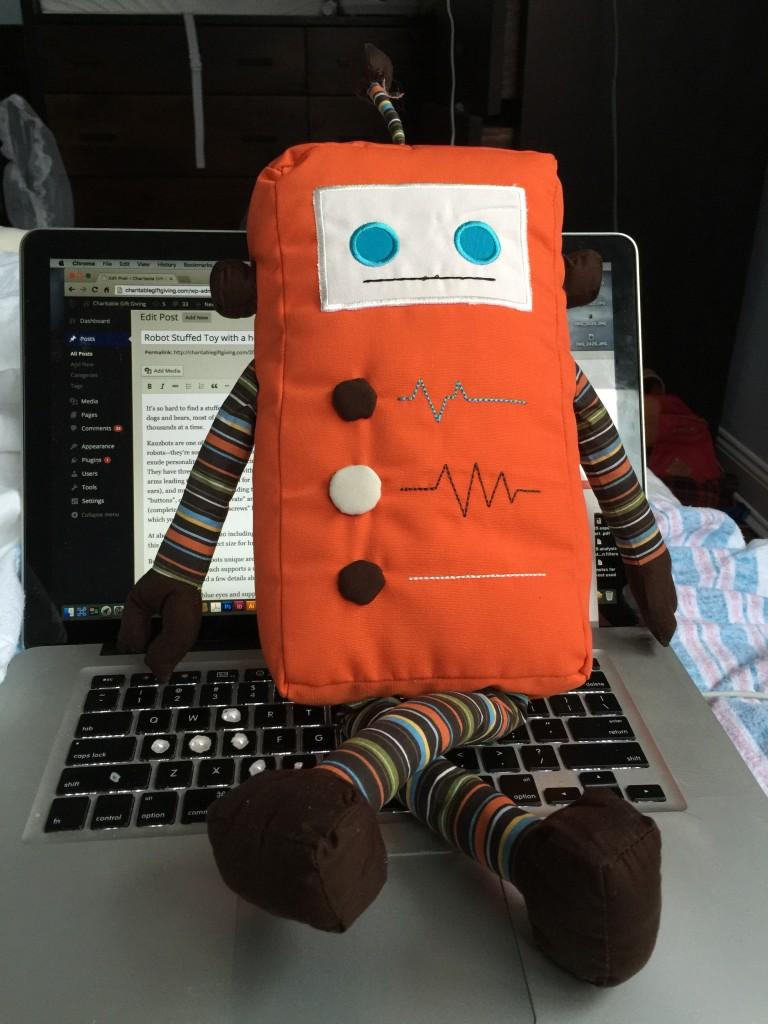 kauzbot cute plush robots